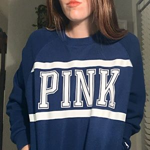 Royal Blue Victoria's Secret PINK Sweatshirt